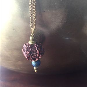 Special Brass Rudraksha Necklace